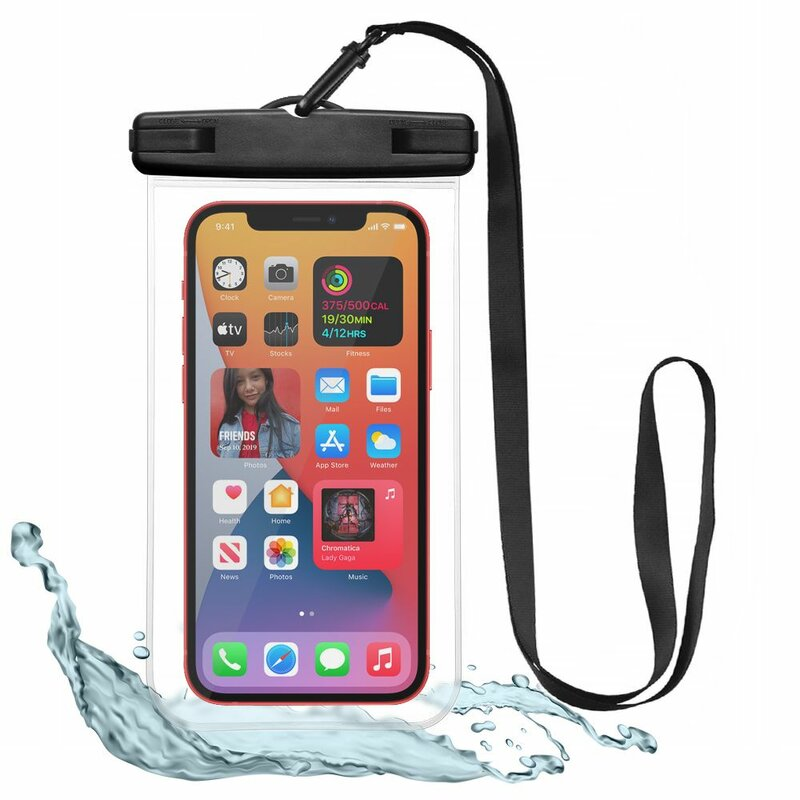 Husa subacvatica telefon Tech-Protect, carcasa waterproof, negru