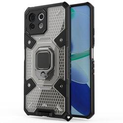 Husa antisoc Xiaomi Mi 11 Lite Techsuit Honeycomb, negru