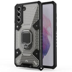 Husa antisoc Samsung Galaxy S21 Plus 5G Techsuit Honeycomb, negru