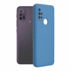 Husa Motorola Moto G20 Techsuit Soft Edge Silicone, albastru
