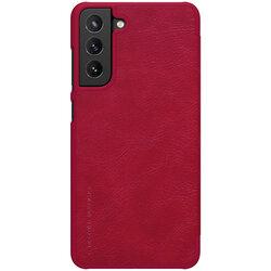 Husa Samsung Galaxy S21 FE 5G Nillkin QIN Leather - Rosu