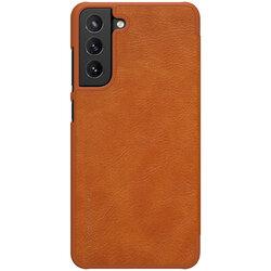 Husa Samsung Galaxy S21 FE 5G Nillkin QIN Leather - Maro