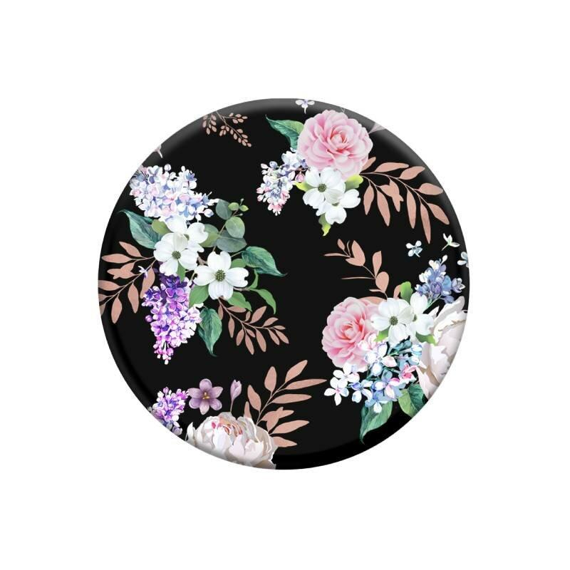 Popsockets Original, Suport Cu Functii Multiple, Black Floral