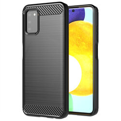 Husa Samsung Galaxy A03s TPU Carbon - Negru