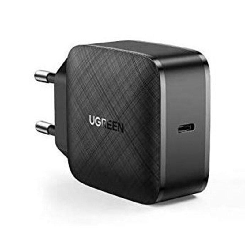 Incarcator Fast Charge GaN X PD 65W USB-C Ugreen, negru, 70817