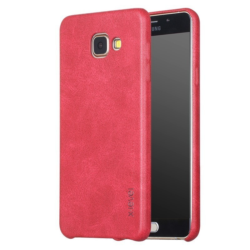 Husa Samsung Galaxy A5, 2016 A510 X-Level Vintage Classic Leather - Red