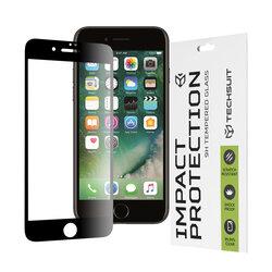 Folie sticla iPhone 7 Plus Techsuit 111D Full Glue Full Cover, negru