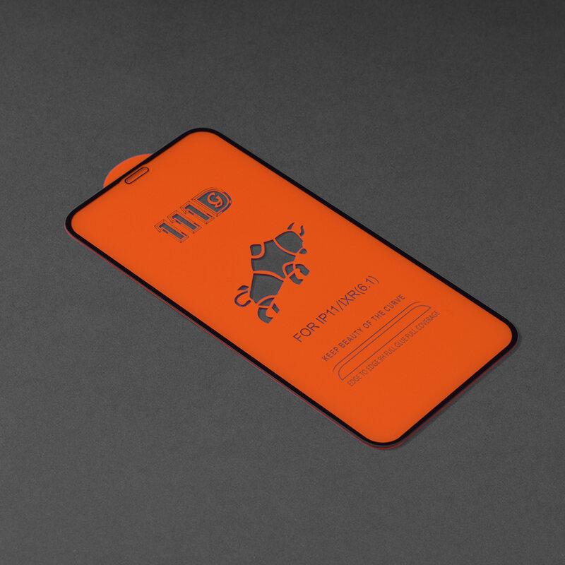 Folie sticla iPhone 11 Techsuit 111D Full Glue Full Cover, negru