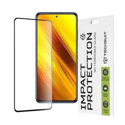Folie sticla Xiaomi Poco X3 NFC Techsuit 111D Full Glue Full Cover, negru