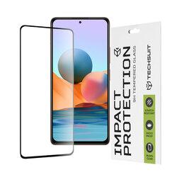 Folie sticla Xiaomi Redmi Note 10 Pro Techsuit 111D Full Glue Full Cover, negru
