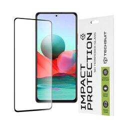 Folie sticla Xiaomi Redmi Note 10 Pro Max Techsuit 111D Full Glue Full Cover, negru