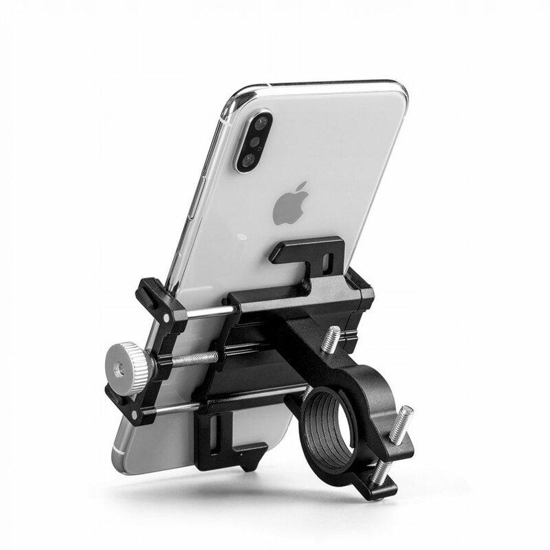 Suport telefon ghidon bicicleta universal Tech-Protect Alupro, negru