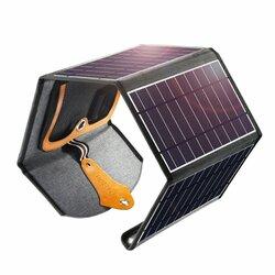 Panou solar fotovoltaic pliabil camping Choetech, 2x USB 22W, SC005