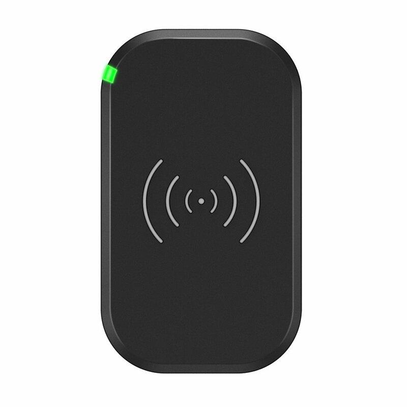Incarcator wireless Fast Charger Qi 10W Choetech, negru, T513-S