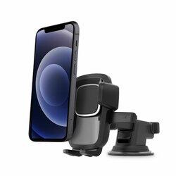Suport telefon auto Tech-Protect Dash V2, prindere parbriz, bord, negru