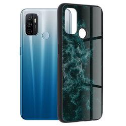 Husa Oppo A53 Techsuit Glaze, Blue Nebula