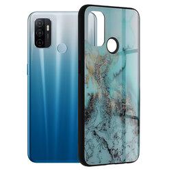 Husa Oppo A53 Techsuit Glaze, Blue Ocean