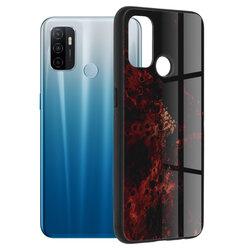 Husa Oppo A53 Techsuit Glaze, Red Nebula