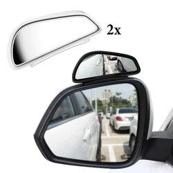 [Set 2x] Oglinda suplimentara auto scoala soferi Baseus, alb, ACFZJ-02