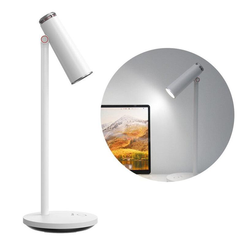 Veioza wireless pentru birou, lampa citit LED, alb, DGIWK-A02