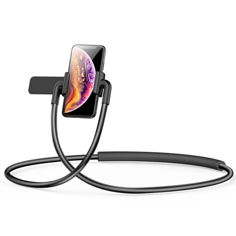 Suport telefon de pus la gat pentru adulti Baseus, negru, SUJG-ALR01