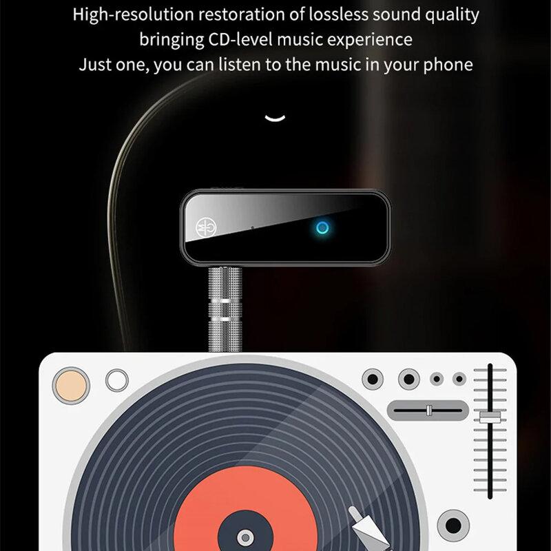 Adaptor audio auto Bluetooth Yesido YAU25, Jack 3.5mm, negru