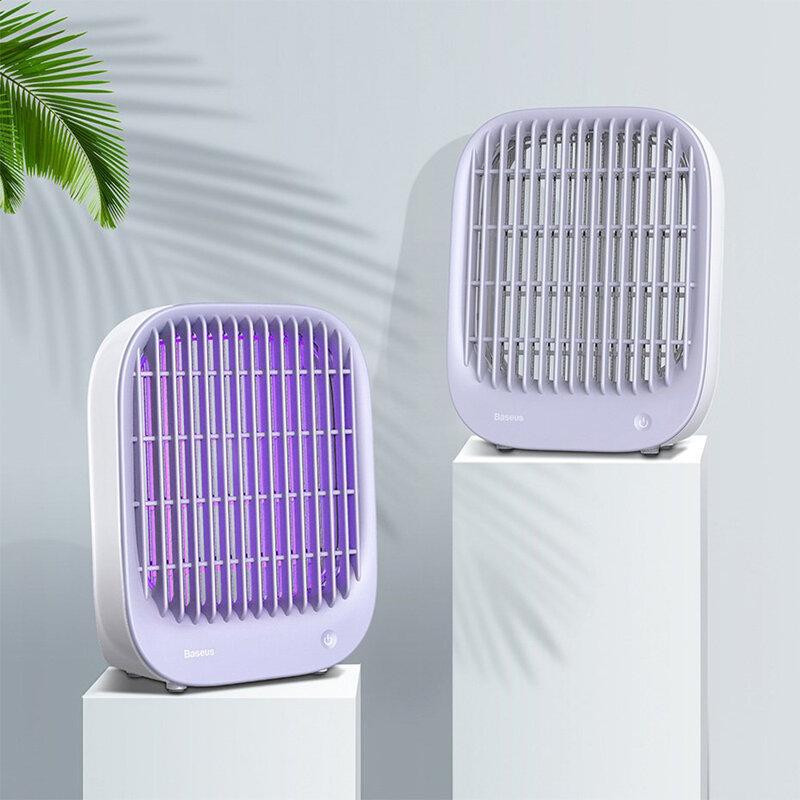 Lampa anti insecte/ tantari Baseus cu lumina UV, alb, ACMWD-BJ02