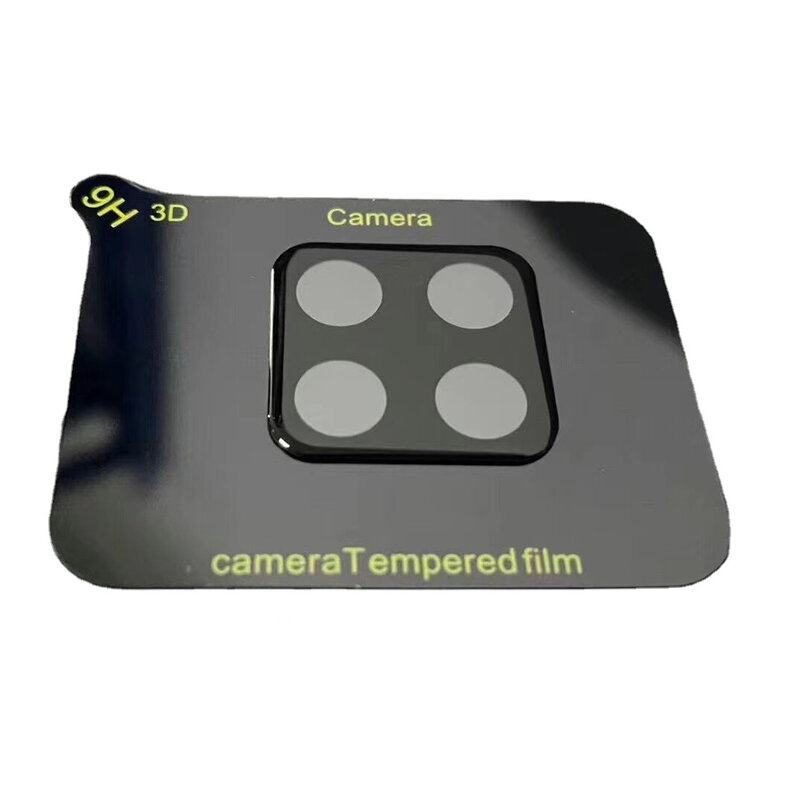 Folie camera Samsung Galaxy A12 Mocolo Back Lens 9H, negru