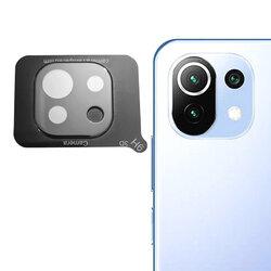 Folie camera Xiaomi Mi 11 Lite Mocolo Back Lens 9H, negru
