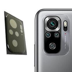 Folie camera Xiaomi Redmi Note 10S Mocolo Back Lens 9H, negru