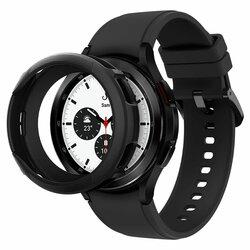 Carcasa Samsung Galaxy Watch4 Classic 46mm Spigen Liquid Air, negru