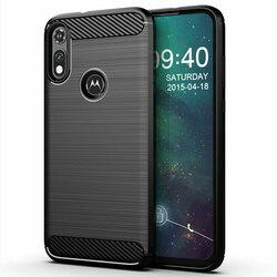 Husa Motorola Moto E6i TPU Carbon - Negru