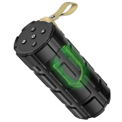 Boxa portabila Bluetooth Hoco HC7, Micro-SD, USB, FM, negru