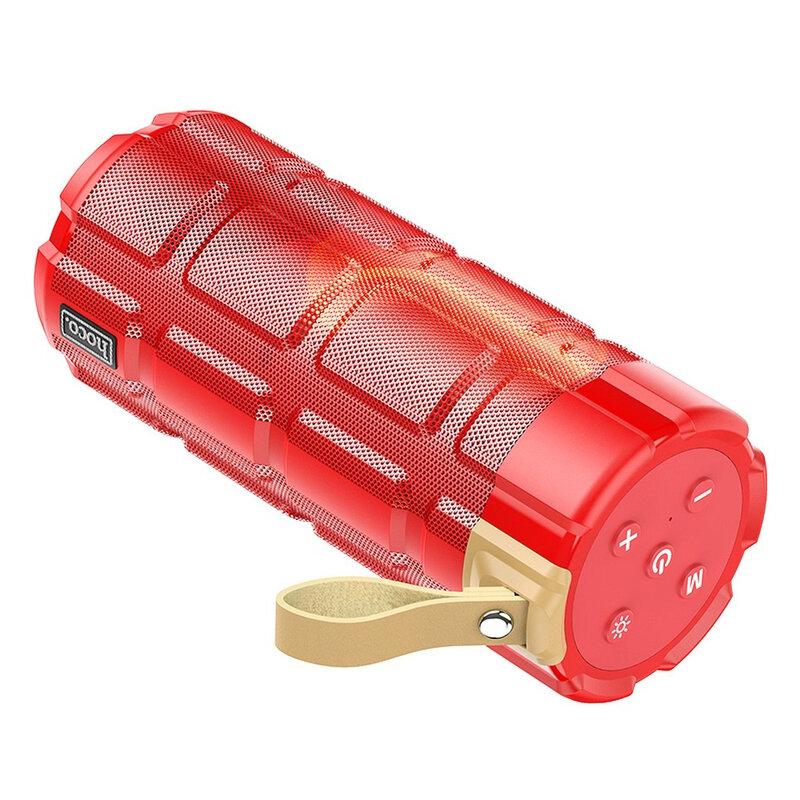 Boxa portabila Bluetooth Hoco HC7, Micro-SD, USB, FM, rosu