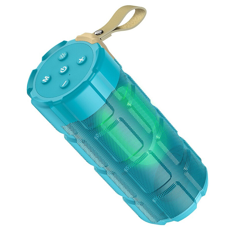 Boxa portabila Bluetooth Hoco HC7, Micro-SD, USB, FM, albastru