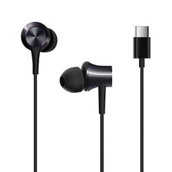 Casti in-ear Xiaomi Piston, Type-C, stereo, microfon, negru