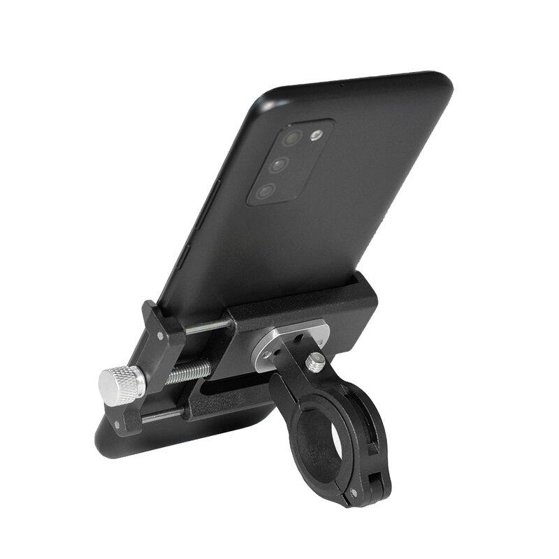 Suport Bicicleta Gub G85 Din Metal Cu Prindere De Ghidon Pentru Telefoane - Black