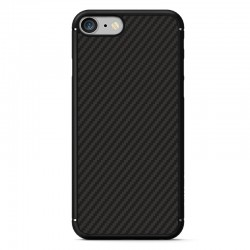 Husa Iphone 7 Nillkin Synthetic Fiber - Black