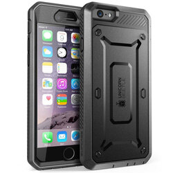 Husa iPhone 6 Plus / 6s Plus Supcase Unicorn Beetle Pro + Bumper - Black
