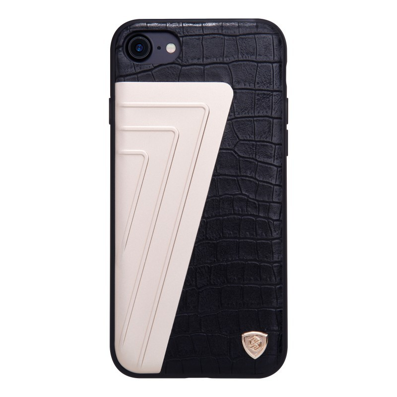 Husa Iphone 7 Nillkin Hybrid Crocodile Leather - Black
