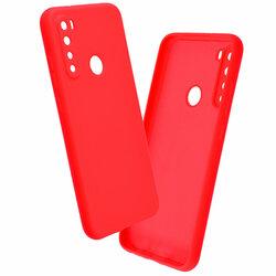 Husa Xiaomi Redmi Note 8 2021 Mobster SoftTouch Lite - Rosu