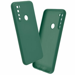 Husa Xiaomi Redmi Note 8 2021 Mobster SoftTouch Lite - Verde Inchis