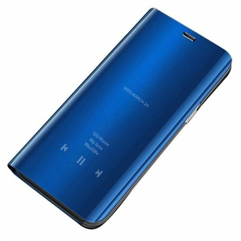 Husa Huawei P40 Pro Flip Standing Cover - Blue