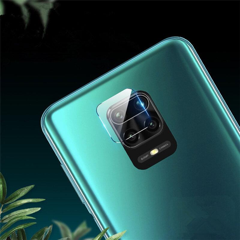 Folie camera Xiaomi Redmi Note 9 Pro Mocolo Back Lens 9H, clear