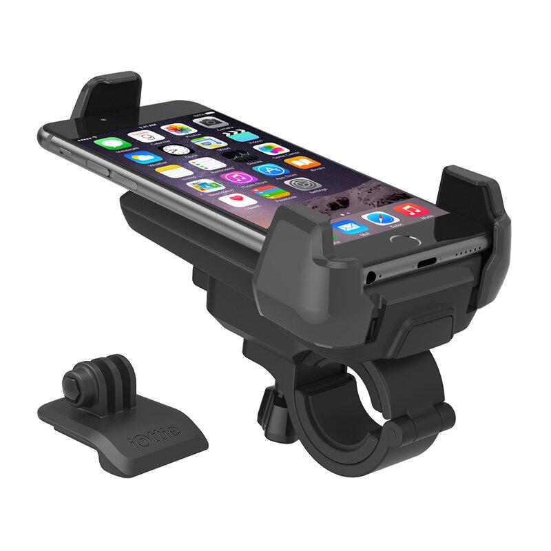 Suport bicicleta GoPro, moto telefon iOttie Active Edge, negru