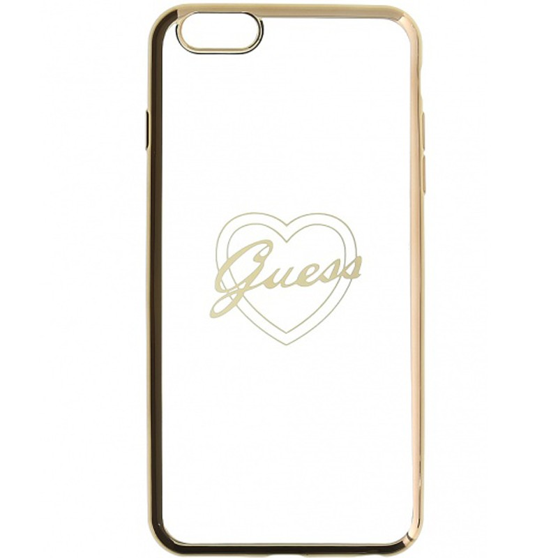 Bumper iPhone 6, 6s Plus Guess - Gold GUHCP6LTRHG