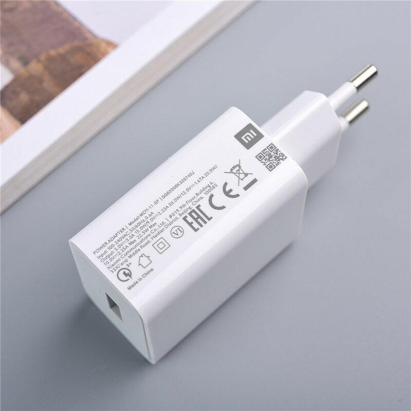 Incarcator priza USB Xiaomi original 22.5W, alb, MDY-11-EP
