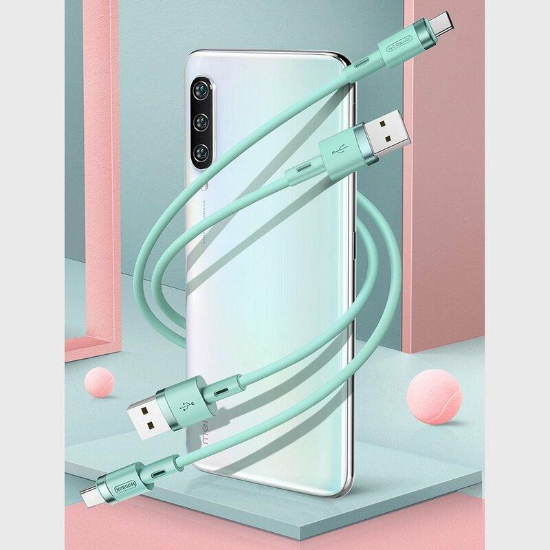 Cablu de date USB-C JoyRoom N2, Quick Charge, 2.4A, 1.2m, negru
