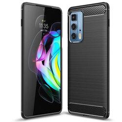 Husa Motorola Edge 20 Pro TPU Carbon - Negru