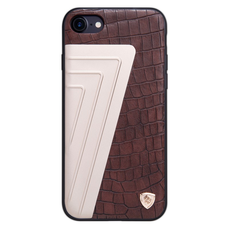 Husa Iphone 7 Nillkin Hybrid Crocodile Leather - Brown